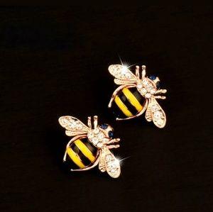 BETSEY JOHNSON BUMBLE BEE EARRINGS